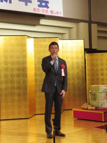 松本研新年会1